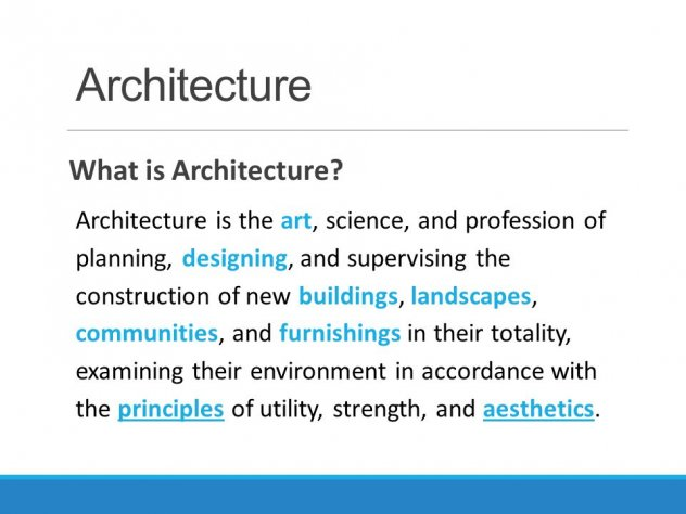 What is Architecture? | Architecture of the United Kingdom