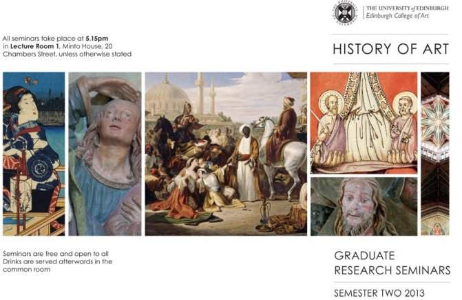 History of Art Seminar Series