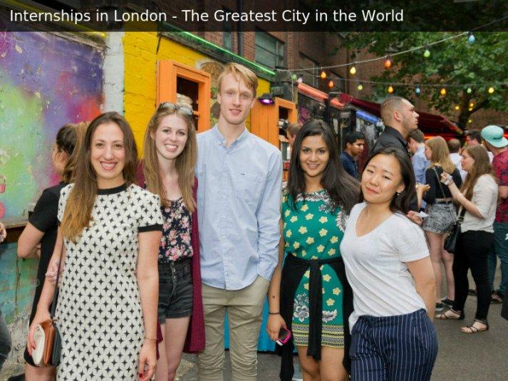London Internship Program