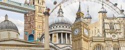Famous landmarks of London