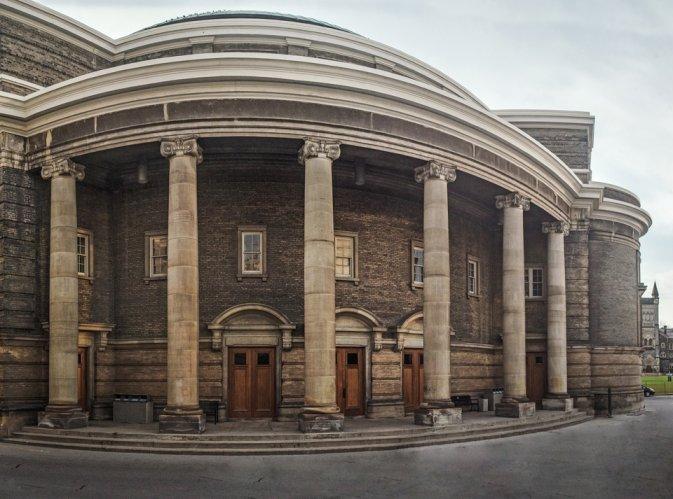 Convocation Hall Facing North
