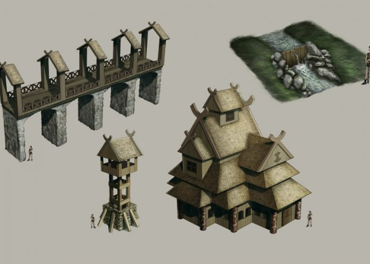 Viking Architecture Modules. ""