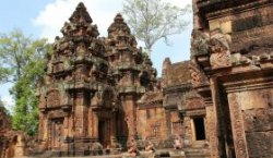 Angkor Wat, Cambodia, temples, Ta Phrom and Angkor Thom, Southeast Asia
