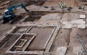 Archaeological discovery at the site of the World Conservation and Exhibitions Centre