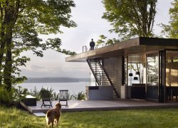 Case Inlet Retreat / MW Works. Image via AIA