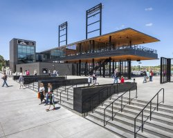 CHS Field / Snow Kreilich Architects. Image © Paul Crosby