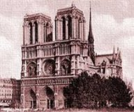 Earthlore Explorations Gothic Dreams: Notre Dame de Paris South West View - 1800s