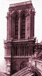 Earthlore Explorations Gothic Dreams: South Tower of Notre Dame de Paris