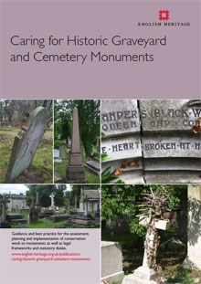Front cover for Caring for Historic Graveyard and Cemetery Monuments
